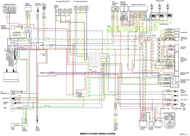 K100 CAFE FIGHTER K Ze Wiring Diagram on